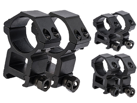 Matrix Aluminum Scope Mounting Rings