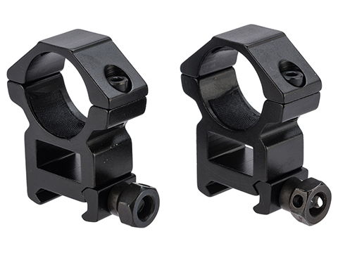 Matrix Aluminum Scope Mounting Rings (Type: 1 Tube / Medium)