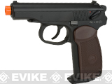 KWC CO2 Powered Makarov Gas Blowback Airsoft  Pistol - Black