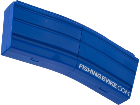 Evike.com M4 AR15 Magazine Shaped Accessory Tool Box (Color: Blue / Fishing.Evike.com)