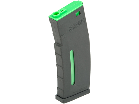 Evike.com BAMF 190rd Polymer Mid-Cap Magazine for M4 / M16 Series Airsoft AEG Rifles (Color: BioHazard / Single Magazine)