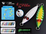Ocean Fire Slow Jigging Luminous Jig by Wiki Jigging (Weight: #6 200g)