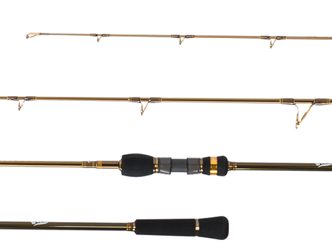 Jigging Master Thor's Stick One and a Half Piece Fishing Rod (Model: #3 63S / Spinning)