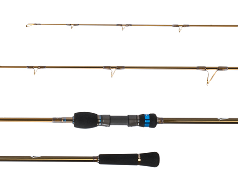 Jigging Master Thor's Stick One and a Half Piece Fishing Rod (Model: #4 63S / Spinning)
