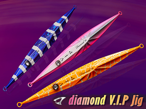 Jigging Master Diamond VIP Long Fishing Jig w/ 3D Eye (Model: 200g - #2)