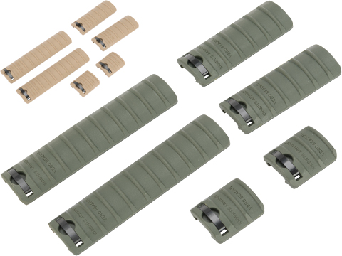Matrix 6 Piece Rail Cover Set for 20mm RIS Handguards