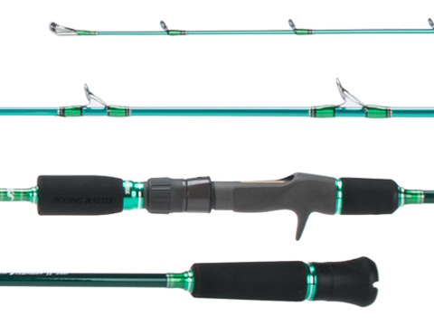 Jigging Master Evolution Titanium II Rod (Model: Conventional 100B Green)