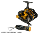 Jigging Master UnderHead Reel - Black / Gold
