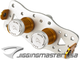 Jigging Master Professional Fishing Line Spool-Up Kit (Color: Gold / Silver)