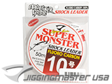 Jigging Master Super Monster 100% Fluorocarbon leader 50M (Test: 45 Lbs)