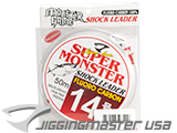 Jigging Master Super Monster 100% Fluorocarbon leader 50M (Test: 56 Lbs)