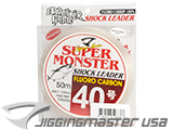 Jigging Master Super Monster 100% Fluorocarbon leader 50M (Test: 125 Lbs)