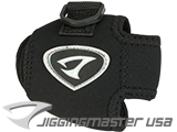 Jigging Master Neoprene Casting / Conventional Reel Cover Pouch (Size: Small)