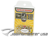 Jigging Master High Grade Fishing Split Ring (Size: SS / 70lb / 20pcs)