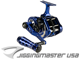 Jigging Master UnderHead Reel - Indigo Limited Edition (Size: PE5N / Narrow)