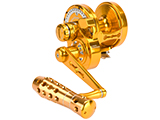 Jigging Master Monster Game High Speed Fishing Reel - Gold (Size: PE6)