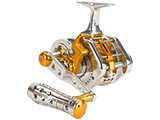 Jigging Master UnderHead Reel - Silver / Gold (Size: PE5N / Narrow)