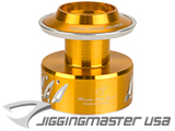 Jigging Master NS-16 16000 Monster Spool for Shimano Stella & Twin Power (Color: GD/SV)