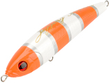 Jigging Master Ocean Devil 7 120g Surface Sinking Pencil (Color: #08 Orange Nemo)