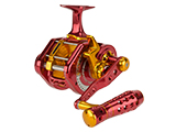 Jigging Master UnderHead Reel - Red / Gold (Size: PE7 / Left Hand)
