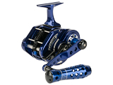 Jigging Master UnderHead Reel - Indigo Blue Limited Edition (Size: PE7 / Left Hand)