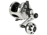 Jigging Master Ocean Devil Fishing Reel - Silver / Black (Size: PE6)