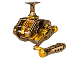 Jigging Master UnderHead Reel - Coffee Gold Limited Edition (Size: PE7LH Left Hand)