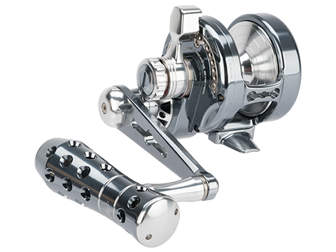Jigging Master Power Spell Fishing Reel - Grey / Silver (Size: PE3 Left Hand)