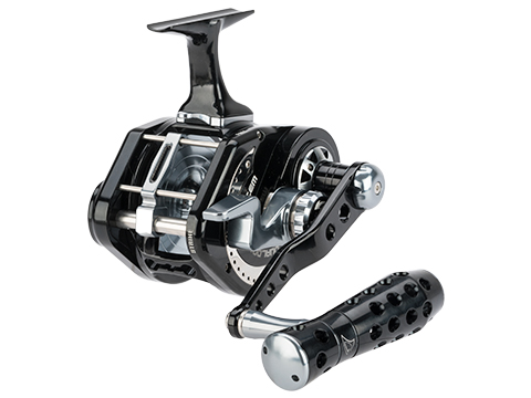 Jigging Master UnderHead Reel - Black / Grey (Size: PE7 / Left Hand)