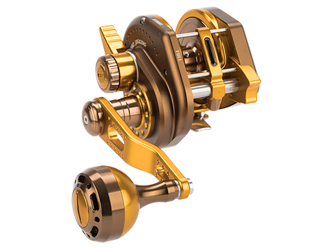Jigging Master Wiki Violent Slow Lever Wind Fishing Reel w/ Automatic Line Guide (Model: 2000H Right Gold)