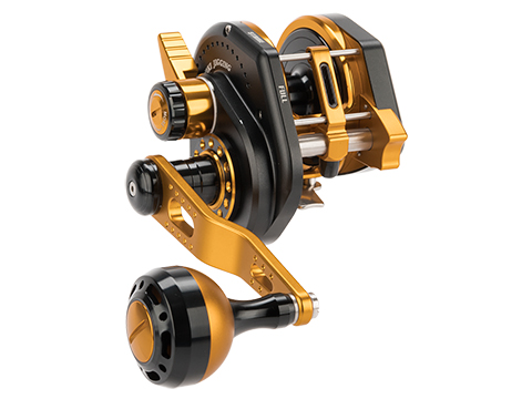 Jigging Master Wiki Violent Slow Lever Wind Fishing Reel w/ Automatic Line Guide (Model: 2000XH Right Black)