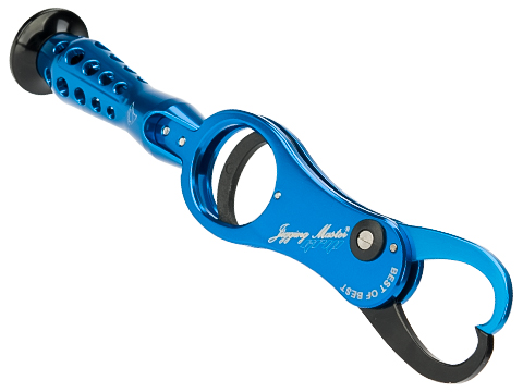 Jigging Master GRIP Harmless Fishing Gaff (Color: Blue)