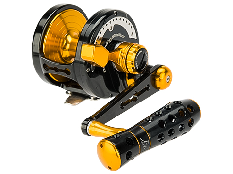Jigging Master Power Spell Fishing Reel Black / Gold (Size: PE8)