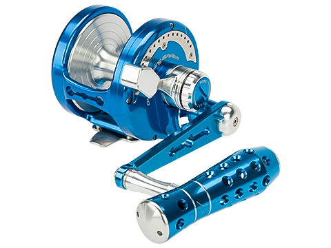 Jigging Master Power Spell Fishing Reel - Blue / Silver (Size: PE8)