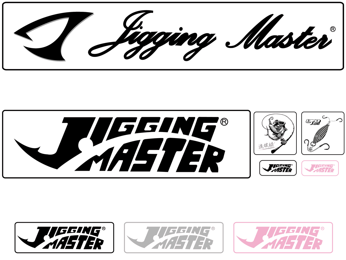 Jigging Master Sticker