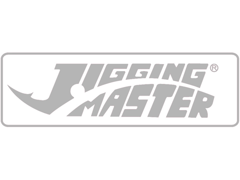 Jigging Master Sticker (Size: 170mm x 60mm / Silver)