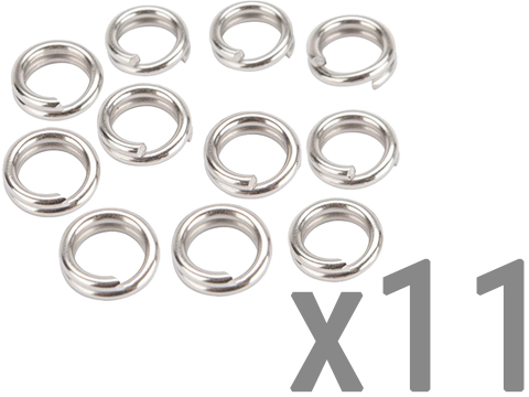 Jigging Master Monster Split Rings (Size: S / 170 LBS)