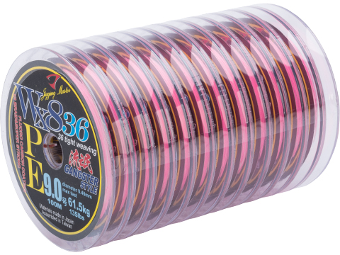 Jigging Master Gangster WX8 36 Knit Tight Weaving PE Braided Line (Size: #9 135 lbs)