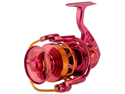 Jigging Master Monster Game Spinning Fishing Reel (Model: 8000H-16000S / Red)