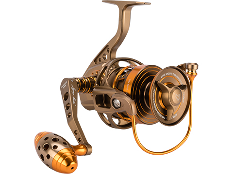 Jigging Master Monster Game Spinning Fishing Reel (Model: 8000XH-16000S / Gold)
