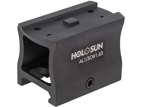HOLOSUN 1.63 Lower 1/3 Co-Witness Dot Sight Mount