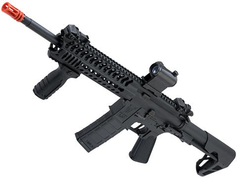 King Arms TWS M4 Striker Ultra Grade II Airsoft AEG Rifle (Color: Black / Keymod Carbine)