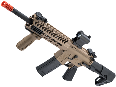 King Arms TWS M4 Striker Ultra Grade II Airsoft AEG Rifle (Color: Dark Earth / M-LOK Carbine)