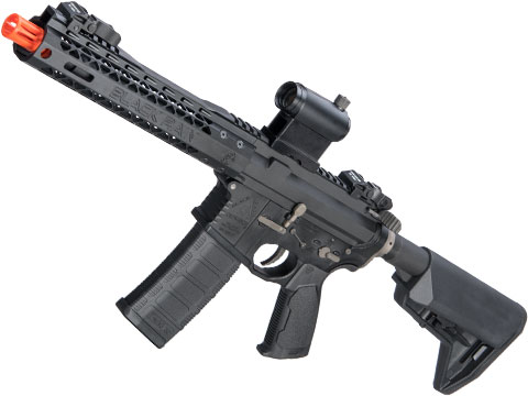 EMG Black Rain Ordnance BRO SPEC15 Licensed AR-15 Airsoft AEG Rifle w/ M-LOK Handguard (Color: Black / Shorty)