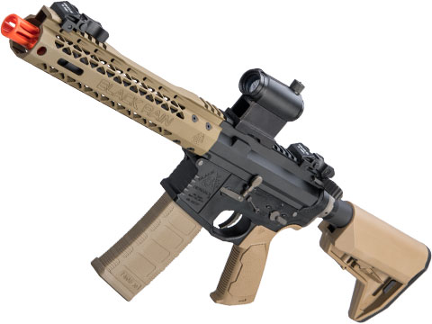 EMG Black Rain Ordnance BRO SPEC15 Licensed AR-15 Airsoft AEG Rifle w/ M-LOK Handguard (Color: Dark Earth / Shorty)