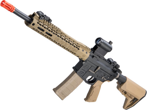 EMG Black Rain Ordnance BRO SPEC15 Licensed AR-15 Airsoft AEG Rifle w/ M-LOK Handguard (Color: Dark Earth / Carbine)