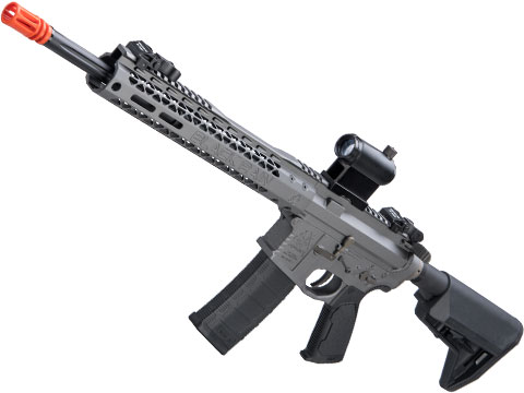 EMG Black Rain Ordnance BRO SPEC15 Licensed AR-15 Airsoft AEG Rifle w/ M-LOK Handguard (Color: Grey / Carbine)