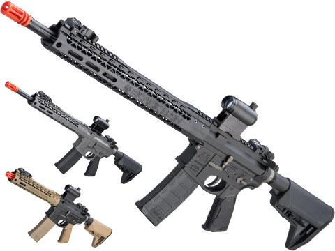 EMG Black Rain Ordnance BRO SPEC15 Licensed AR-15 Airsoft AEG Rifle w/ M-LOK Handguard (Color: Black / Rifle)