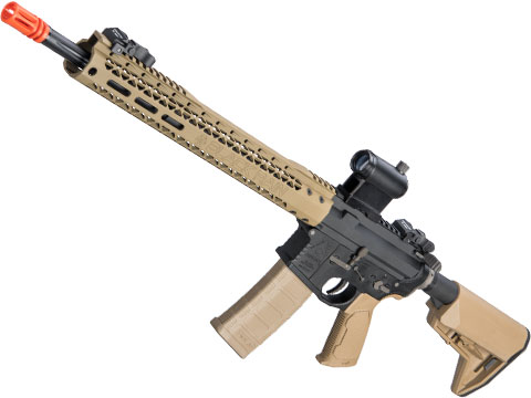 EMG Black Rain Ordnance BRO SPEC15 Licensed AR-15 Airsoft AEG Rifle w/ M-LOK Handguard (Color: Dark Earth / Rifle)
