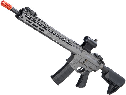 EMG Black Rain Ordnance BRO SPEC15 Licensed AR-15 Airsoft AEG Rifle w/ M-LOK Handguard (Color: Grey / Rifle)